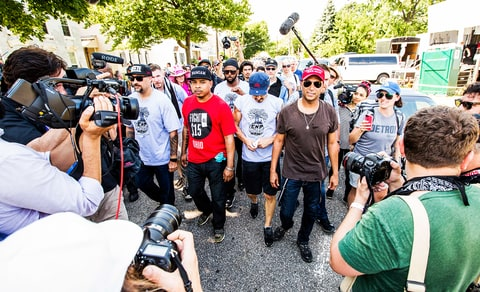 Inside Prophets of Rage's Cleveland Takeover